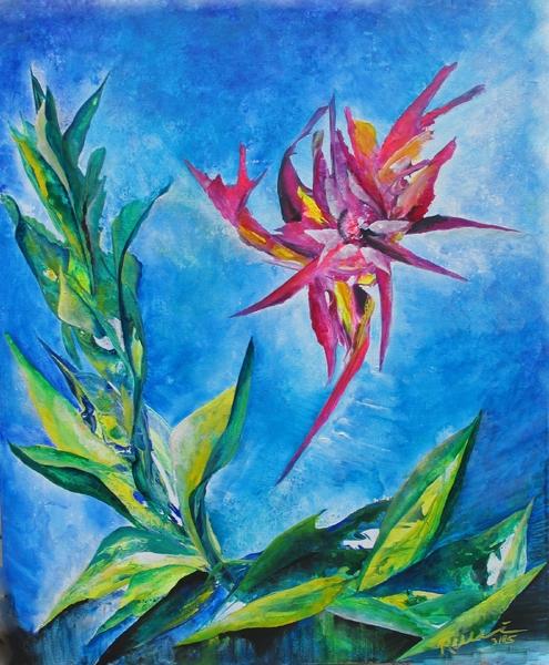 Red Flower 2005 - Rani B. Knobel