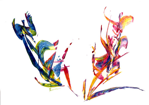Celebration - Calligraphie of Ecstasy- Rani B. Knobel