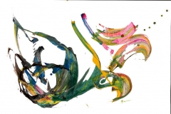 ohne Titel - Calligraphie of Ecstasy- Rani B. Knobel
