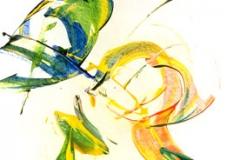 ohne Titel - Calligraphie of Ecstasy - Rani B. Knobel