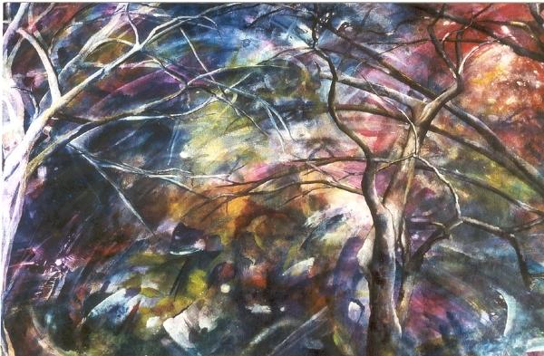 Bäume im Sturm - Rani B. Knobel