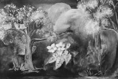 Apfelblüten dicht an dicht, schimmern sacht im Mondenlichtt - Rani B. Knobel
