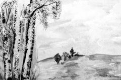 Aus den hellen Birken steigt - Rani B. Knobel