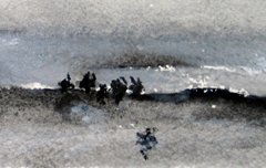 Winter Landschaft - Rani B. Knobel