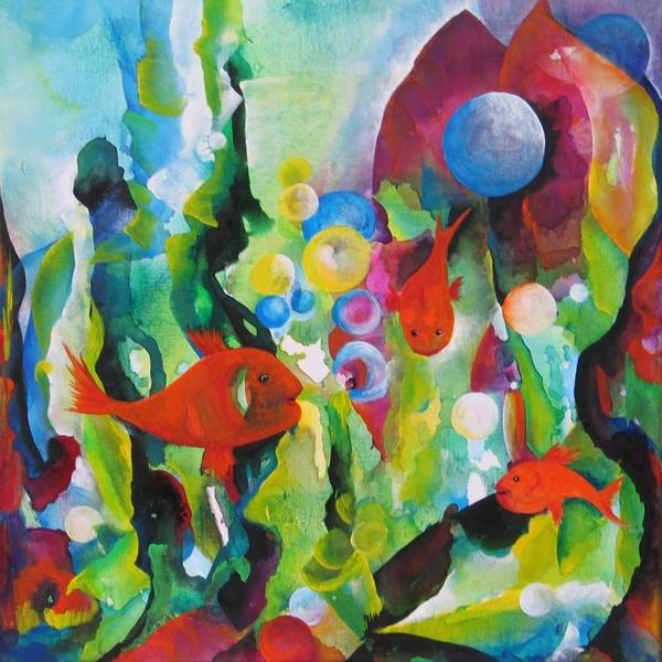 """Fisch b - aus der Serie """"Oceanic Dance"""" Rani B"""
