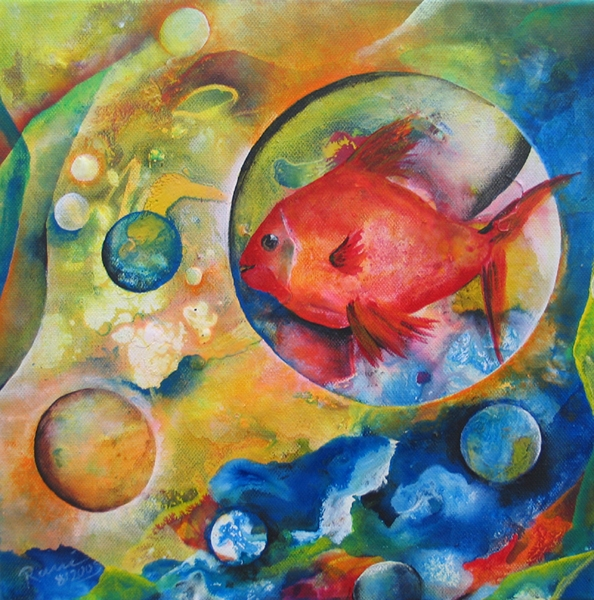 Fish in a Bubble - Rani B. Knobel