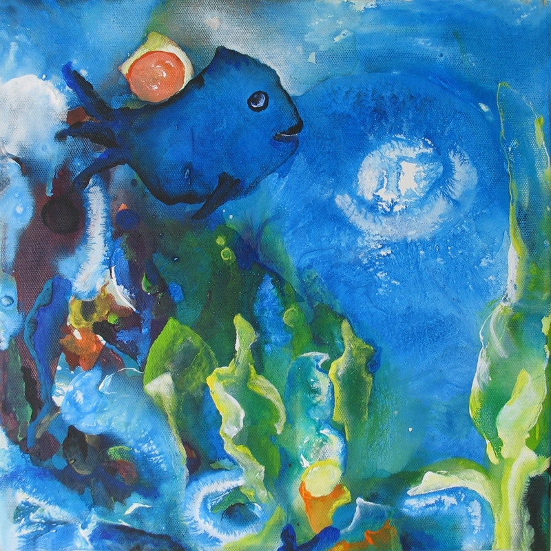 "Fisch f- aus der Serie ""Oceanic Dance"" Rani B"