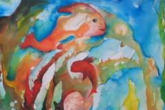 "Happy Fishes - aus der Serie ""Oceanic Dance"" Rani B"