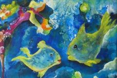 "Fisch c - aus der Serie ""Oceanic Dance"" Rani B"