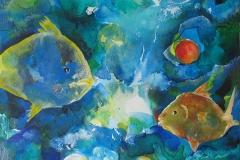 """Fisch g - aus der Serie """"Oceanic Dance"""" Rani B"""