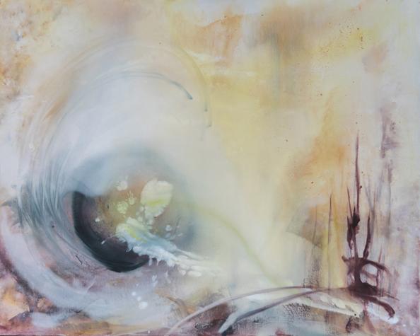 Das Geschenk des Lebens - Abstrakte Malerei auf Leinwand